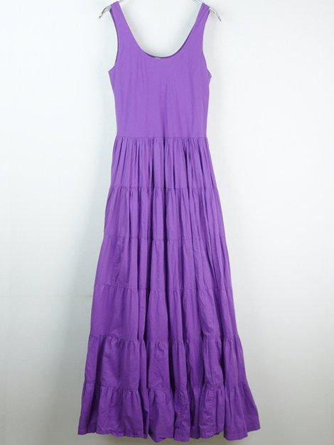 草原の虹のドレス ノースリーブ