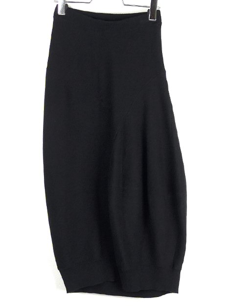 20SS COミラノリブ立体ニットスカート