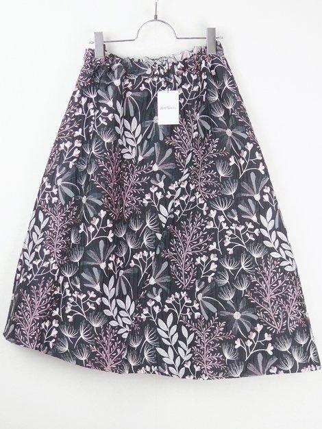 19AW reversible jacquard skirt