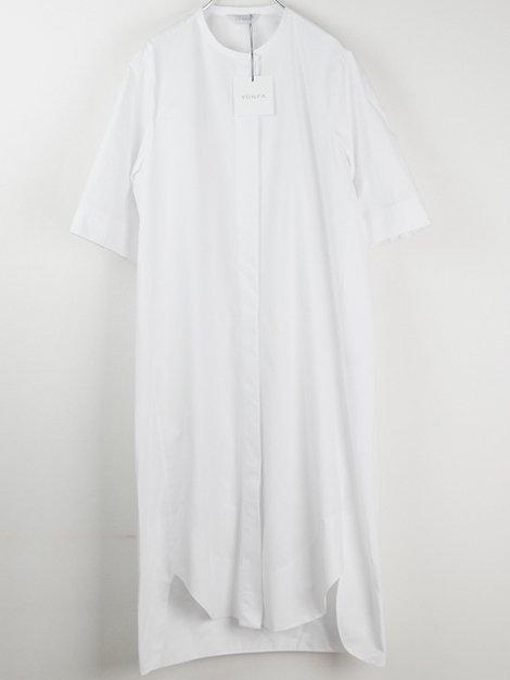 20SS cocoon shirt dress S/S
