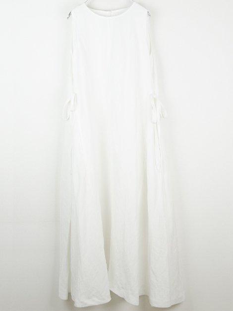 19SS リネンロングドレス