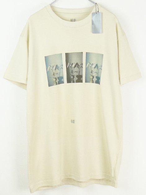19SS フラワーフォトプリントTシャツ