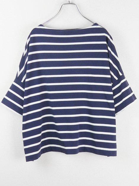 19SS LEE別注ビッグマリンボートネックシャツ