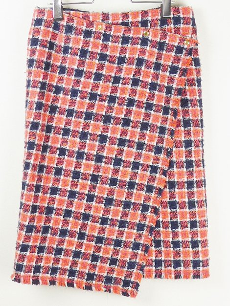 17SS ツイードスカート