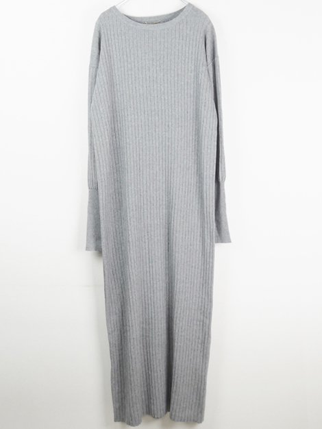 20SS Rib Knit ワンピース