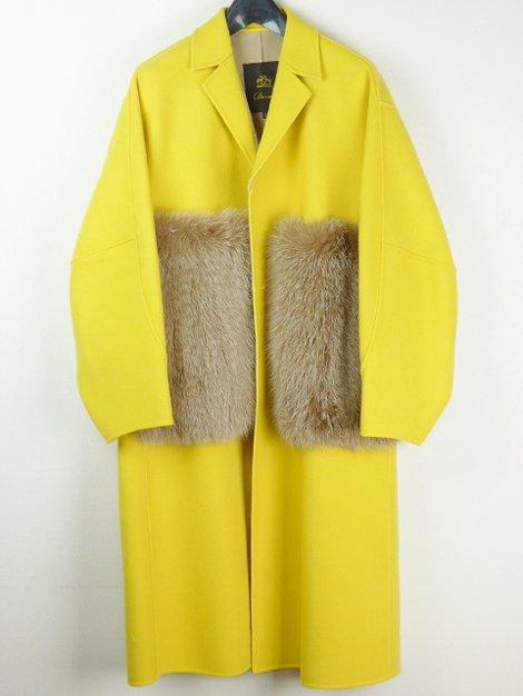 19AW ファーポケットコート