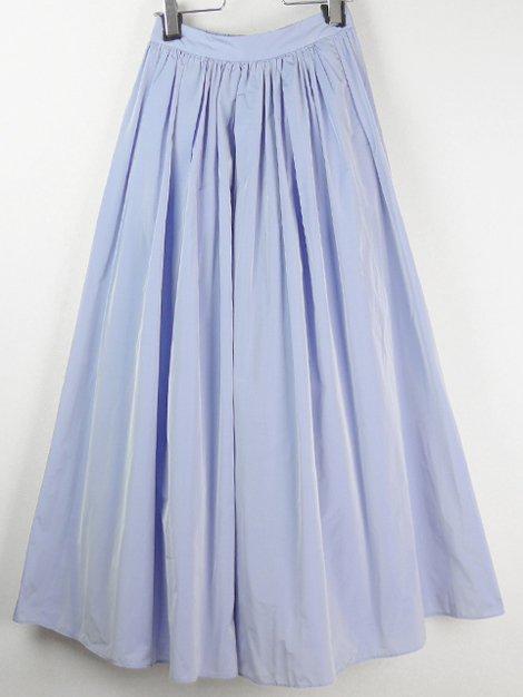 20SS マイクロタフタボリュームマキシスカート