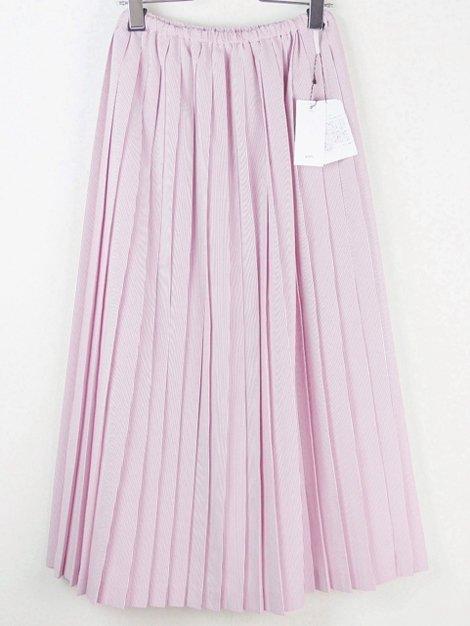 19SS ストライププリーツスカート