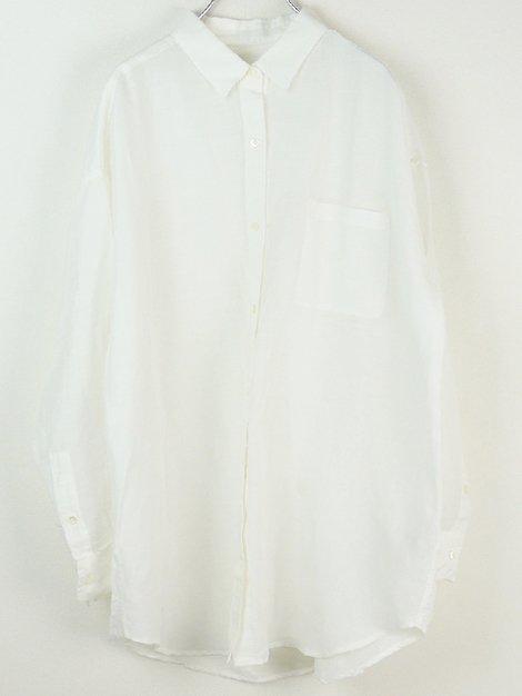 20SS リネン/リヨセルオーバーシャツ