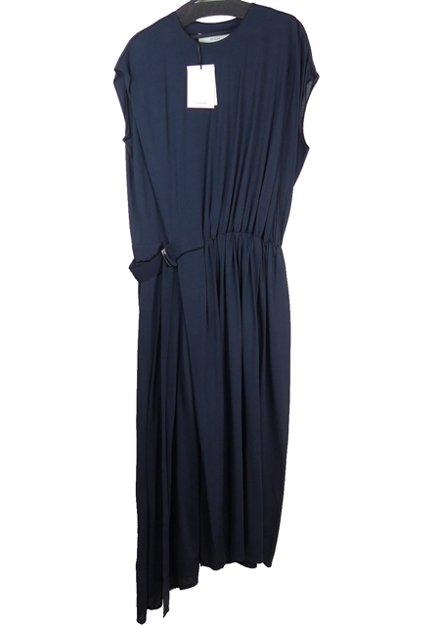 19SS シルクジャージーギャザードレス