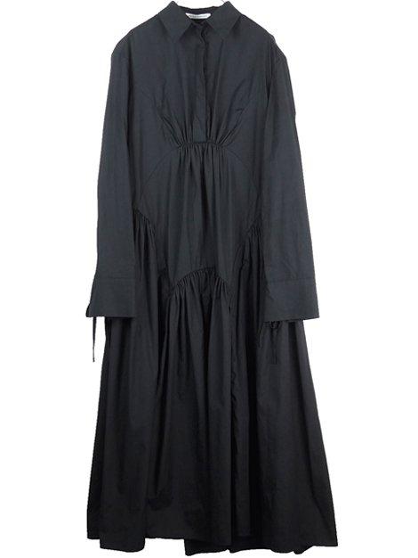 ティアードフレアーロングドレス