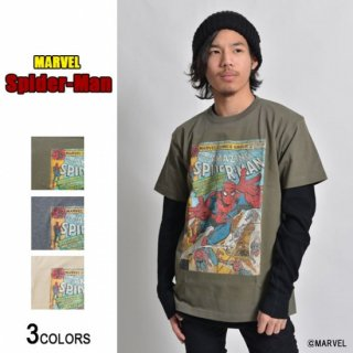 <img class='new_mark_img1' src='//img.shop-pro.jp/img/new/icons15.gif' style='border:none;display:inline;margin:0px;padding:0px;width:auto;' />MARVEL「スパイダーマン」Tシャツ