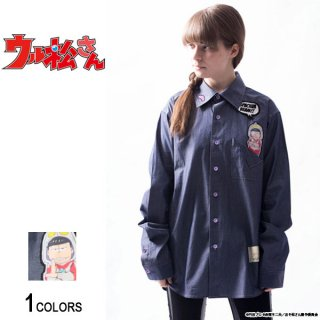 <img class='new_mark_img1' src='//img.shop-pro.jp/img/new/icons5.gif' style='border:none;display:inline;margin:0px;padding:0px;width:auto;' />『ウル松さん』 「一松ジャック」ポケットシャツ(男女兼用)