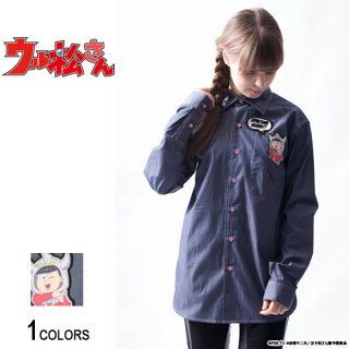 <img class='new_mark_img1' src='//img.shop-pro.jp/img/new/icons5.gif' style='border:none;display:inline;margin:0px;padding:0px;width:auto;' />『ウル松さん』 「トド松タロウ」ポケットシャツ(男女兼用)