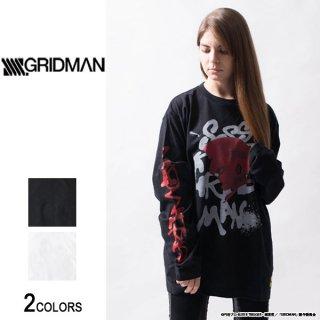 『SSSS.GRIDMAN』グリッドマン グラフティ ロングTシャツ(男女兼用)