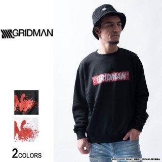 『SSSS.GRIDMAN』グリッドマン ボックスロゴトレーナー(男女兼用)