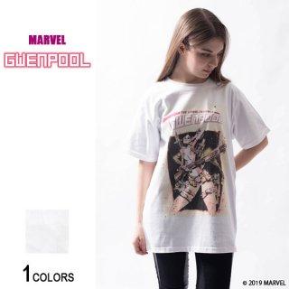 MARVEL『グウェンプール』コミック・フロントカバー Tシャツ(男女兼用)