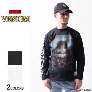 MARVEL『ヴェノム』「俺たちはヴェノムだ」ロングTシャツ(男女兼用)