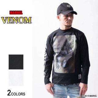 MARVEL『ヴェノム』「残虐なダーク・ヒーロー」ロングTシャツ(男女兼用)