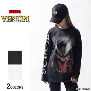 MARVEL『ヴェノム』「最凶のヴィラン」ロングTシャツ(男女兼用)