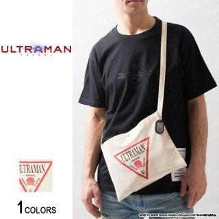 『ULTRAMAN』 ドッグタグ付き ウルトラマン トライアングルデザイン サコッシュ(男女兼用)
