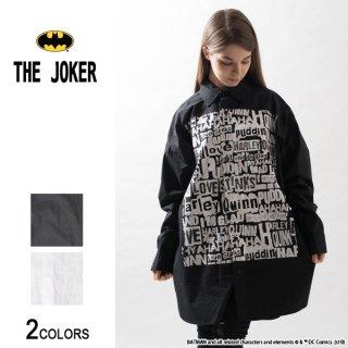『THE JOKER』ジョーカー&ハーレイ・クイン WORDS ビッグシャツ(男女兼用)