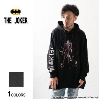 『THE JOKER』ジョーカー 犯罪界の道化王子 サイドジップ・ビッグパーカー(男女兼用)