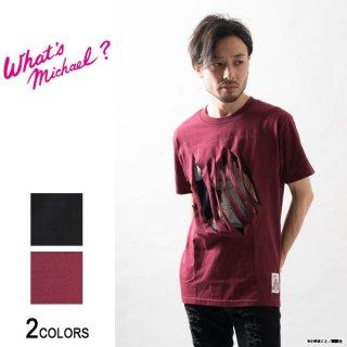 『What's Michael?』マイケル スラッシュ Tシャツ(男女兼用)