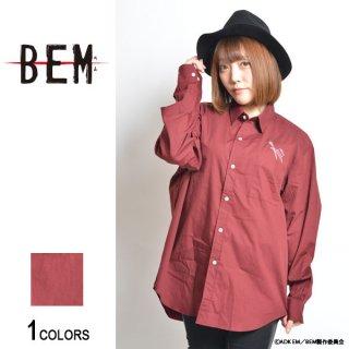 『BEM』刺繍シャツ ベム model(男女兼用)