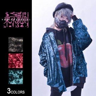 『東京裏側』クラッシュベロアMA-1(男女兼用)