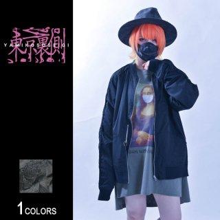 『東京裏側』サイドZIP切り替え刺繍スカジャン Tiger Ver.(男女兼用)