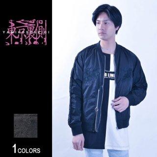 『東京裏側』サイドZIP切り替え刺繍スカジャン Dragon Ver.(男女兼用)
