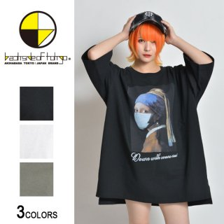 JV Painting×マスクビッグTシャツ(男女兼用)