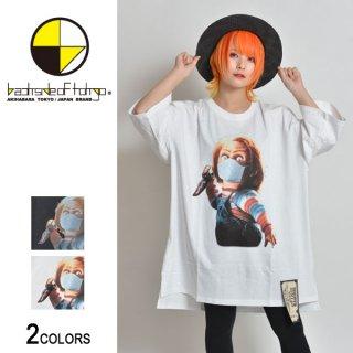 バイオレンスキッズ×マスクビッグTシャツ(男女兼用)