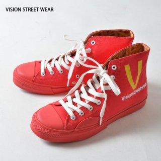 VISION STREET WEAR(ヴィジョン ストリート ウェア)デザインハイカットスニーカー