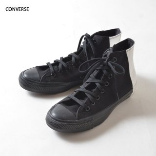 CONVERSE(コンバース)オールスター100 モノパネル ハイ スニーカー(ブラック×ホワイト)