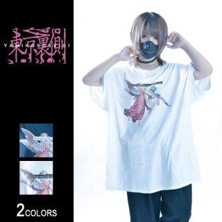 【東京裏側】ASSAULT RIFLE×ANGEL ビッグTシャツ(男女兼用)