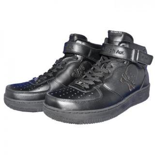 Ain Force 1 MID cut Plain(Black)