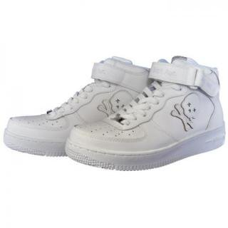 Ain Force 1 MID cut Plain(White)