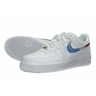 NIKE AirForce1 LOW Custom Swarovski Pattern(W-FR)