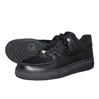 NIKE AirForce1 LOW Custom Swarovski Plain(B-J)