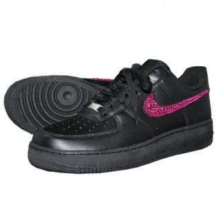NIKE AirForce1 LOW Custom Swarovski Plain(B-F)