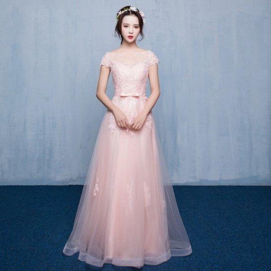 ウェディングのお色直しや発表会に プチプラ清楚かわいいロングドレス