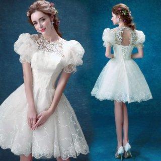 フォトジェニックな甘さたっぷり バックコンシャス バレリーナラインウェディングドレス