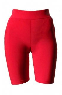 ATHENA BIKER SHORT - RED