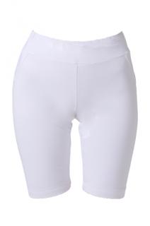 ATHENA BIKER SHORT - WHITE