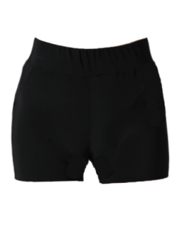 ATHENA SHORT - BLACK