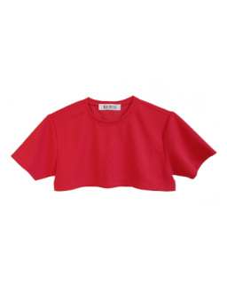 TILLY CROP TOP - RED