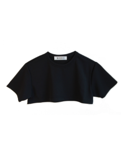 TILLY CROP TOP - BLACK