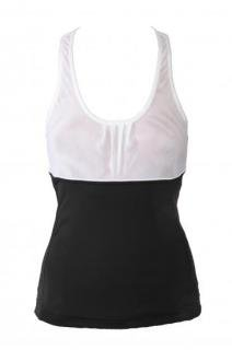 TRUFFLES TANK - BLACK/WHITE